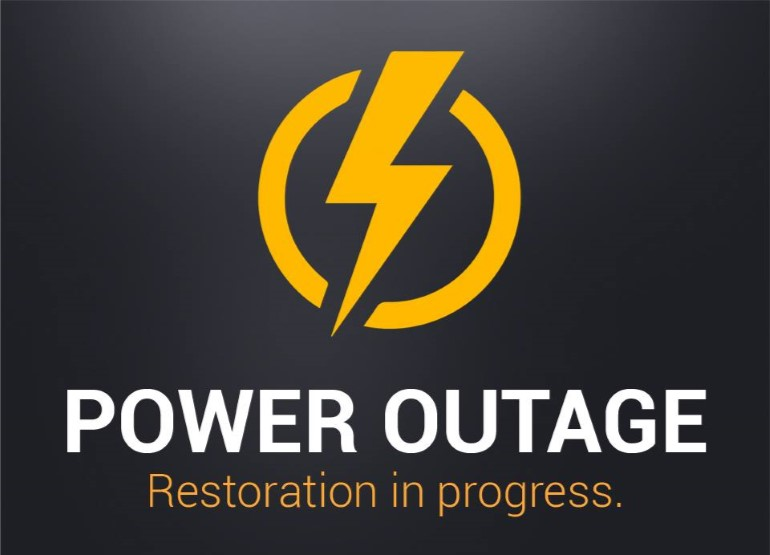 power outage update