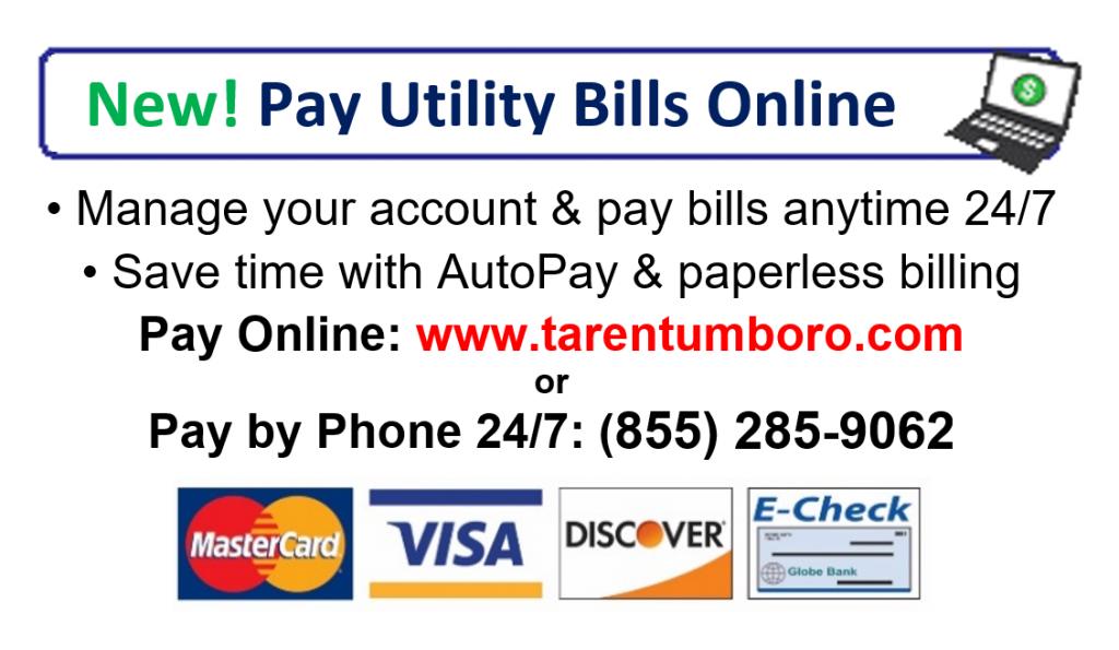 Utility Bill Payments – Borough of Tarentum